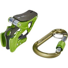 Climbing Technology Alpine-Up Rebbremse-kit, grå/grøn